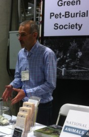 Talking with visitors at Green Festival LA 11/18/12