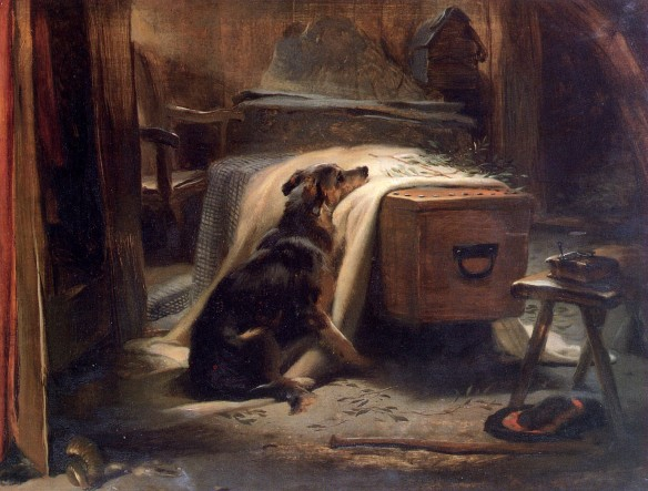 The Old Sheperd's Chief Mourner by Edwin Landseer