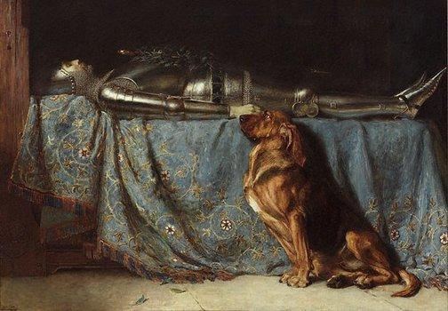 Briton Rivière, Requiescat. 1888.