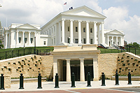 "The Virginia State Capitol - Thomas Jefferson's ""Temple to Democracy"""