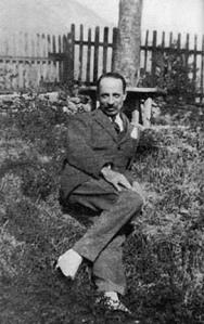 Rainer Maria Rilke, Muzot, 1926.